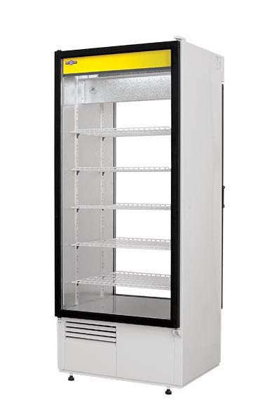 Szafa chłodnicza przeszklona, biała 464 l | RAPA, Sch S 625 W